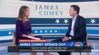 Comey Admits He'll Never Run For President