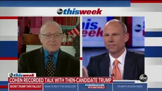 Michael Avenatti refuses to answer question from Alan Dershowitz about Trump tapes - Video