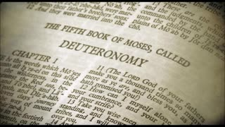 The Book of Deuteronomy (Chapter 34)