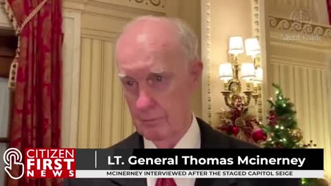 LT. GENERAL THOMAS MCINERNEY SPEAKS AT THE CAPITOL | Citizen First News - Archive January 8th