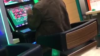 Man Loses it Playing Global Draw Roulette - Video