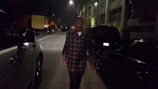 LA radio star Big Boy leaving Mama Gallery - Video