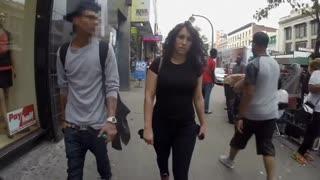 NY street harassment video actress receives threats - Video