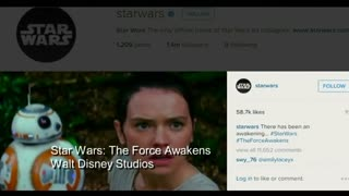 Star Wars joins forces with Instagram - Video