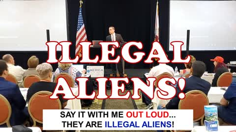*They are ILLEGAL ALIENS!! not undocumented immigrants!!