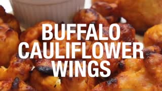 Buffalo Cauliflower Wings - Video