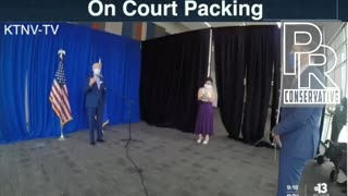 Biden says his voters don't deserve to know about Court Packing.