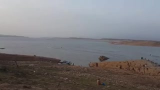 A Most Beautiful View Of Mangla Dam  - Video