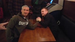 Arm Wrestle Goes Wrong - Video