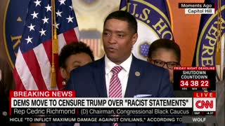 Dems Move to Censure Trump Over 'Racist' Comments - Video