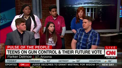Pro-Gun Student During CNN Panel: Left Won't Stop Until They Take Away 'Every Arm in America'