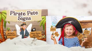 Pirate Pete Pirate Signs