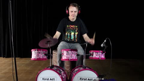 Thrash Metal Played On Children's Musical Instrument Set