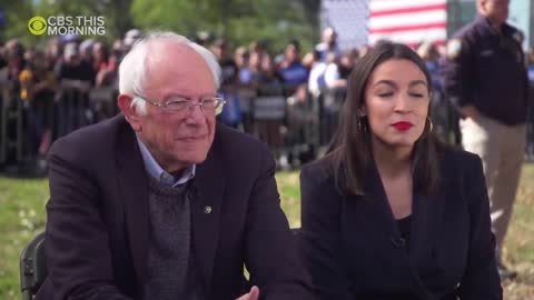 "AOC Says Her Endorsement of Bernie is ""Most Authentic Decision to Let People Know How I Feel"""