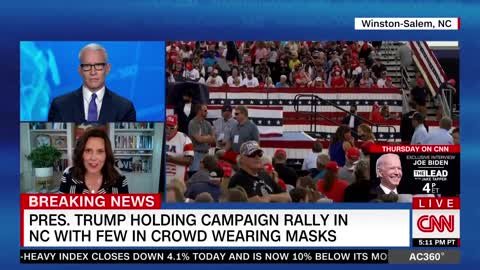 Whitmer: Trump's Maskless Rallies Are Threatening the Sacrifices Americans Have Made