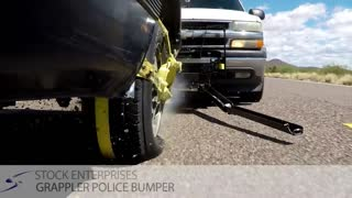"Arizona man invents device which ""grabs"" cars during police pursuits"