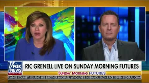 Ric Grenell With Maria Bartiromo