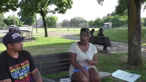 Raeona Coleman Part 3 - Telling Her Deeply Personal And Emotional Story WHY She Defends The Police