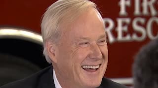 Watch Chris Matthews Joke About His 'Bill Cosby Pill' Before Interviewing Hillary Clinton - Video