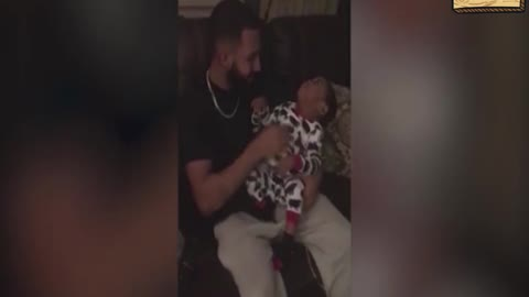 Father thrilled to sing for son with hearing loss