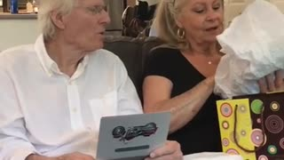 Parents learn they'll be grandparents on Father's Day