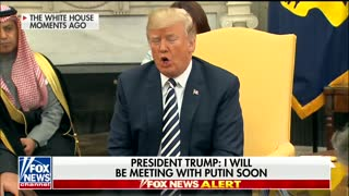 Trump Says He'll Meet With Putin Soon to Discuss Arms Race, North Korea - Video