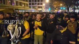 Proud Boys Leader arrested in Washington D.C.