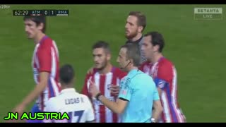 Cristiano Ronaldo Appears to Throw Punch at Koke During Fiery Madrid Derby - Video