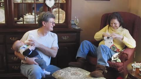 Grandparents Have Heartwarming Pregnancy Announcement Reaction