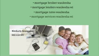 mortgage lenders waukesha wi - Video