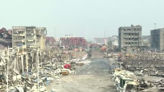 Tianjin residents ask for compensation - Video