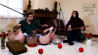 Guys playing a traditional Persian music