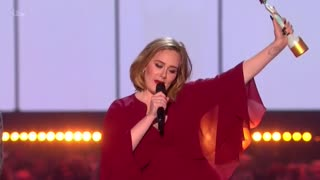 Adele sweeps at 2016 BRIT Awards - Video