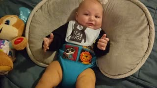Babies Adorable Reaction When Mom Sings