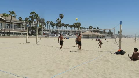 Footvolley Gone Wrong