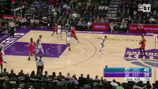Russell Westbrook BURIES Kings with Killer Dunk, 20th Triple-Double - Unanimous MVP? - Video
