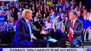 """Campaign 2016 — Trump Says Check From Mexico For Wall Was """"Not Political Reasonable"""" - Video"""
