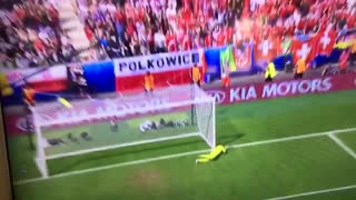VIDEO: Shaqiri scores crazy goal vs Poland Goal of the Tournament!!
