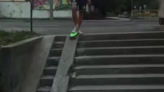 My skateboard trick - Video