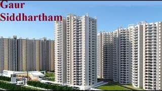 Gaur Siddhartham Flats Apartments - Video