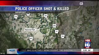 Breaking News - Officer Fatally Shot In Newport Arkansas - Manhunt Underway For Suspects - Video