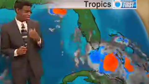 Watch This Weatherman Freak Out When He Sees A Cockroach