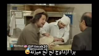 A funny scene from Ali Sadeghi, the Iranian comedian - Video
