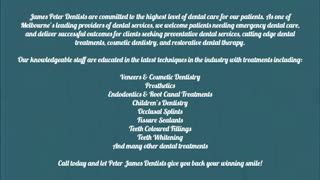 cosmetic dentist melbourne - Video