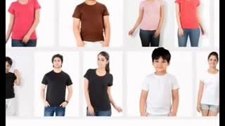 Men Design Tee Shirts - Video