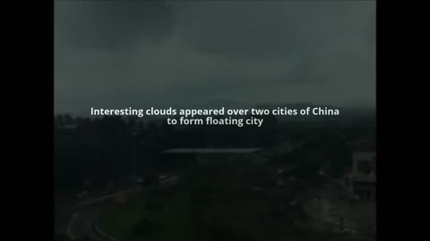 Floating City Over China