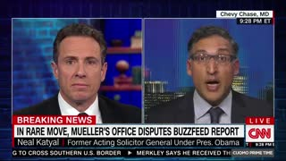 Chris Cuomo seems to complain about Mueller