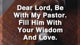 Be With My Pastor - Video