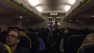 Drunken Passenger Accident | Emergency Landing - Video