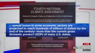 MSNBC Climate Change Report Warns of Dire Consequences